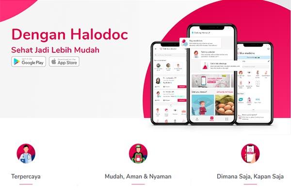 Halodoc, Aplikasi Konsultasi Dokter Online