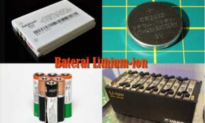 Prinsip Kerja Baterai Litium-ion