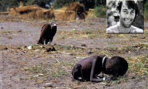Stricken Child Crawling Towards a Food Camp Kevin Carter