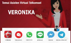 Materi Veronika Asisten Virtual Telkomsel