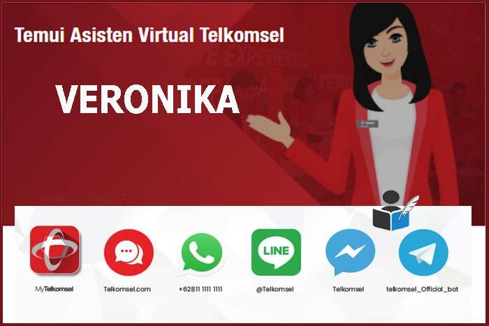 Materi Veronika Asisten Virtual Telkomsel