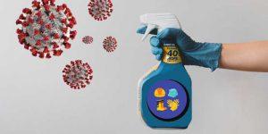 Penggunaan Disinfektan